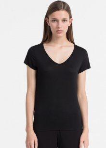 Calvin Klein Tričko Luxe Black XS