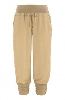 Kalhoty capri Line / béžová