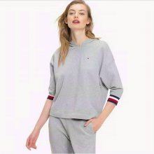 Tommy Hilfiger Mikina Longer Length Grey L