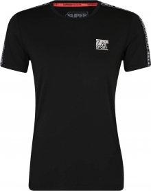 Superdry Funkční tričko černá