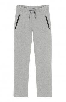 Kalhoty / šedý melír
