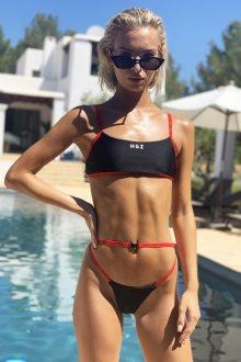Hugz Plavky Ibiza Sport Bikini Černé M