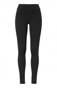 Super strečové džíny s vysokým pasem Lyra / stř. modrý denim - 74 cm , 79 cm