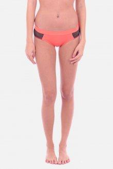 Calvin Klein Plavky Hipster Hot Coral Spodní Díl L