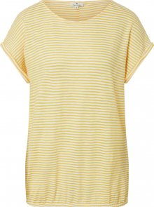 TOM TAILOR Tričko žlutá