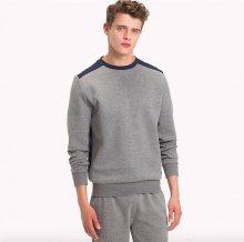 Tommy Hilfiger Mikina Colour Blocked Grey XL