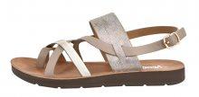 Verde Dámské sandále 28-2977 Beige 36