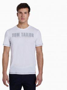 Bílé pánské tričko Tom Tailor