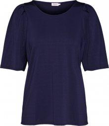 Filippa K Tričko \'Pleat Top\' námořnická modř