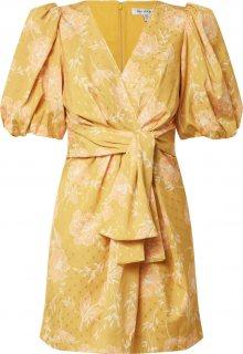 Forever New Šaty \'Esme\' bílá / žlutá