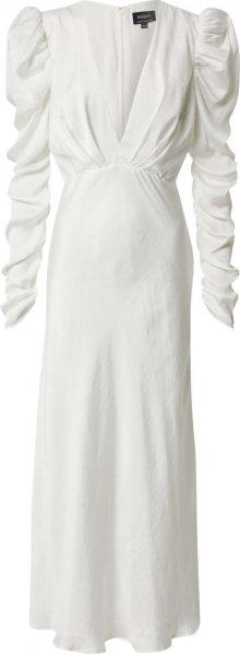 Bardot Společenské šaty \'ZARIA MIDI DRESS\' bílá