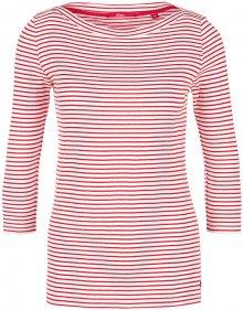 s.Oliver Dámské triko 14.003.39.5905.31G6 Alarmrot stripes 34