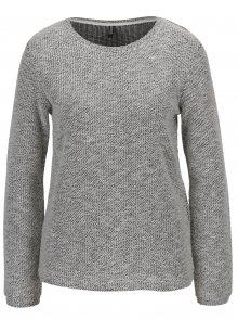 Krémový žíhaný svetr Haily´s Colette
