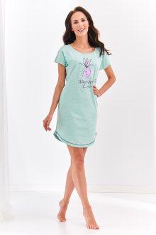 Krátká dámská noční košile 2156 PIA S-XL márová L