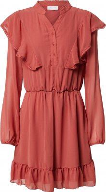VILA Košilové šaty červená