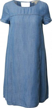 ESPRIT Šaty modrá džínovina