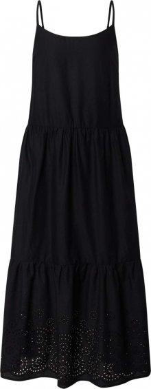 VERO MODA Šaty \'VMHALO SINGLET CALF DRESS WVN GA\' černá