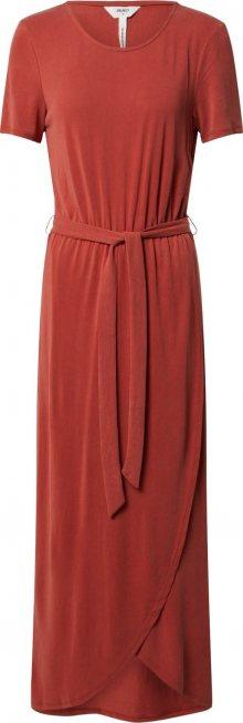 OBJECT Šaty \'OBJANNIE NADIA S/S DRESS SEASONAL\' oranžová / oranžově červená