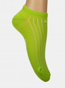 Zelené kotníkové ponožky Marie Claire