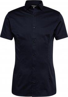 JACK & JONES Košile tmavě modrá