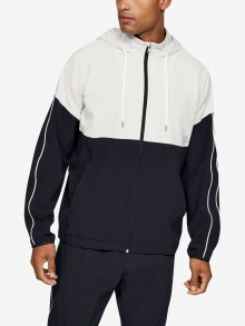 Mikina Under Armour Athlete Recovery Woven Warm Up Top Barevná