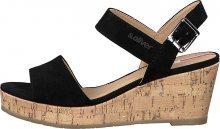 s.Oliver Dámské sandále Black 5-5-28334-24-001 37
