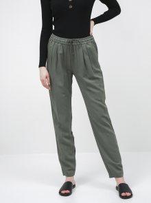 Khaki dámské regular fit kalhoty ZOOT Baseline Edita