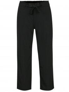 Černé kalhoty s vázankou Jacqueline de Yong Chung