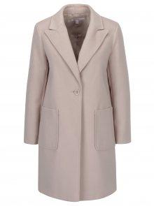 Světle růžový kabát Miss Selfridge Petites