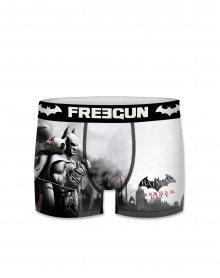 Pánské boxerky Freegun Batman City šedá S
