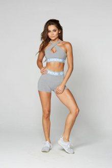 Gym Glamour Kraťásky Grey XS