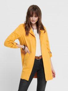 Žlutý dámský kabát ONLY Joline