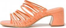 Tamaris Dámské pantofle 1-1-27234-34-673 Peach Neon 36