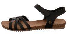 Mustang Dámské sandále 1307801-9 schwarz 37