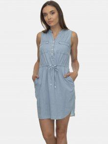 Světle modré šaty Ragwear