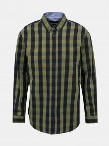 Modro-zelená pánská kostkovaná košile ZOOT Richard