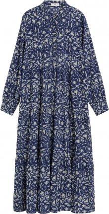 MANGO Plážové šaty \'mykonos-i\' modrá