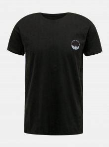 Černé pánské tričko s potiskem LOAP Bodum