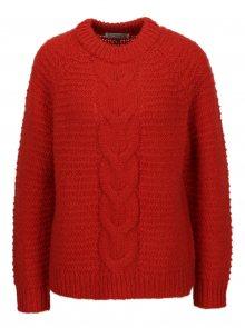Červený svetr Selected Femme Ayda