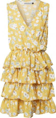Unique21 Šaty žlutá