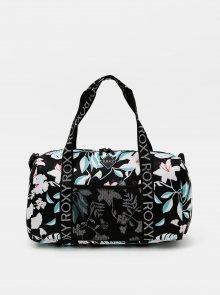Černá květovaná cestovní taška Roxy