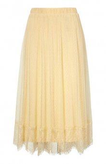 Krajková sukně Katrina / žlutá