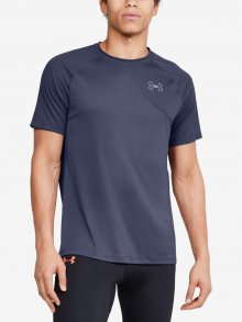Tričko Under Armour M Qlifier Iso-Chill Short Sleeve Modrá