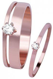 Esprit Stříbrné prsteny Lure ESSE003512 53 mm