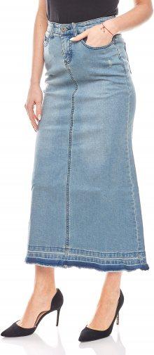 Dámská maxi jeansová sukně
