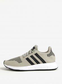 Světle šedé pánské tenisky adidas Originals Swift Run