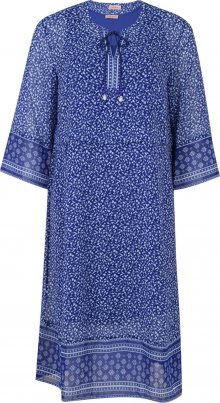 TRIANGLE Šaty bílá / modrá