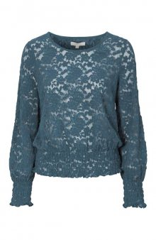 Krajkové tričko Alice / modrá