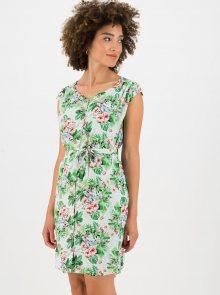 Zelené květované šaty Blutsgeschwister - XS