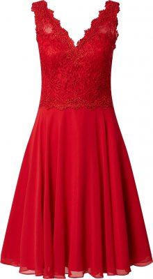 mascara Koktejlové šaty červená